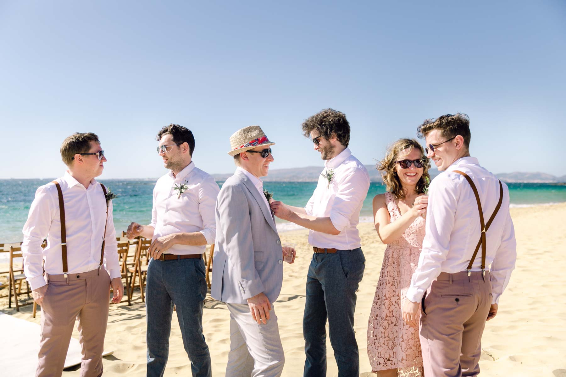 Wedding Celebration of Jayne and Ian: Wedding photography in a dreamy beach by Vicky and Nikiforos Photography Studio