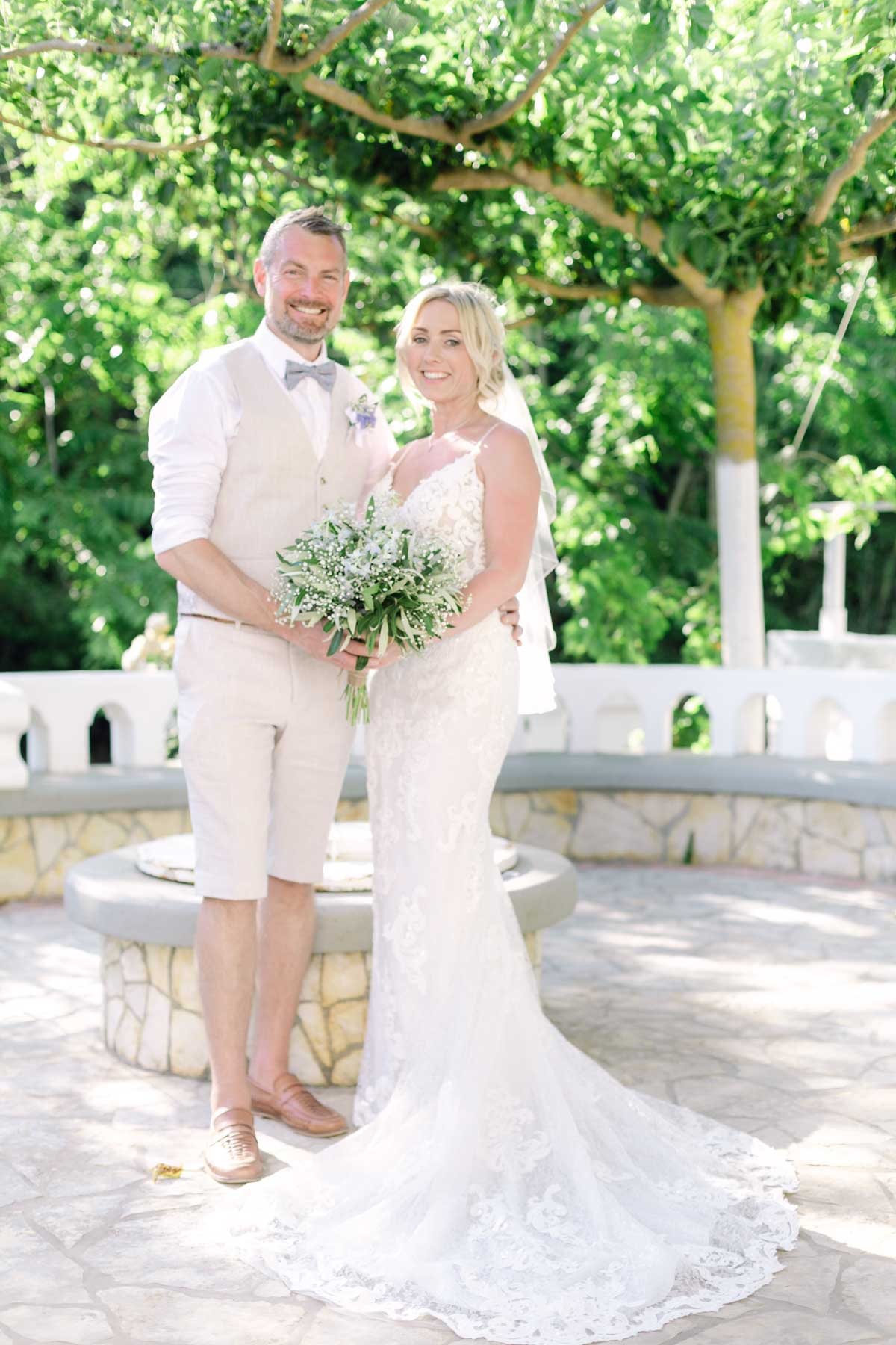 Wedding Celebration of Louise and Gavin by Vicky and Nikiforos Photography Studio
