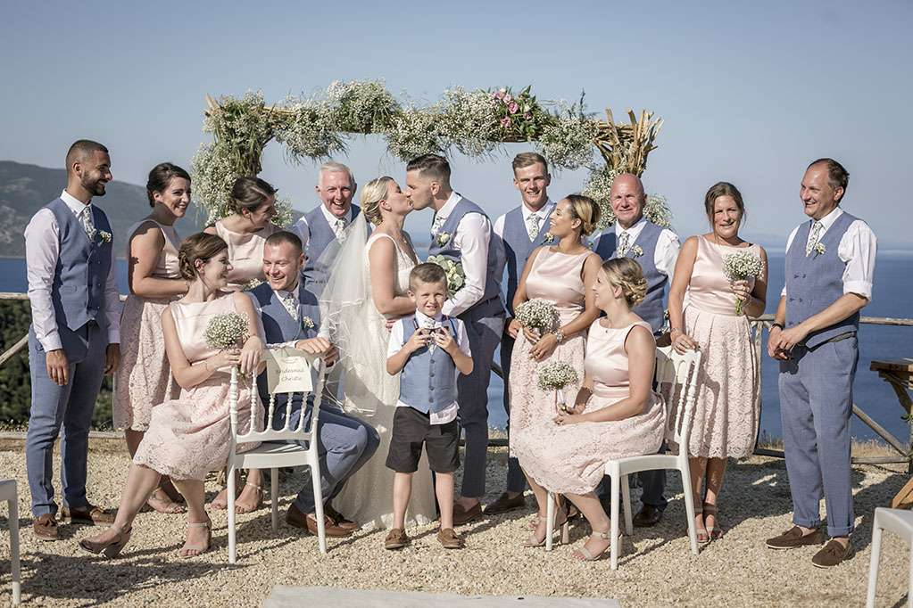 Wedding Celebration of Jodie and James by Vicky and Nikiforos Photography Studio